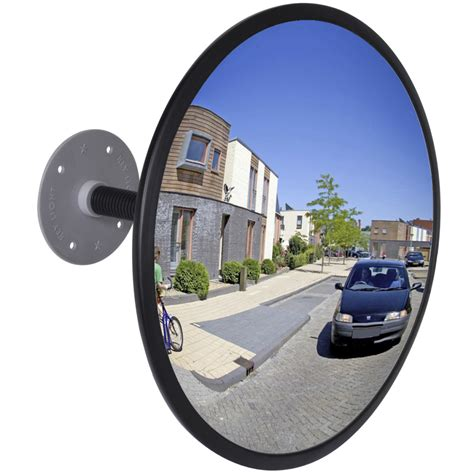 12 Indoor Acrylic Convex Mirror by Affordable Variety Convex Traffic Mirror Acrylic Black 12