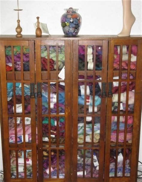 Yarn Storage Furniture by Yarn Storage Cabinet Fiber Arts Studio