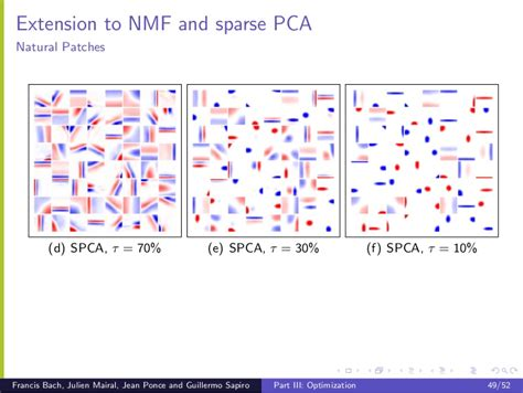 Cvpr2010 Sparse Coding And Dictionary Learning For Image