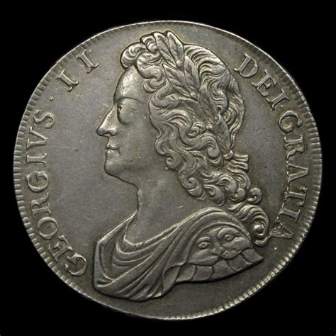 House Of Coins by George Ii 1727 1760 Silver Crown Amr Coins
