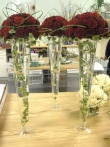 Blue Glass Bud Vase Trumpet Vase Centerpieces Vases Sale