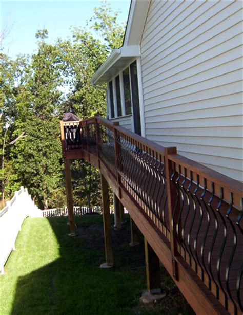 decks railing staircases custom design chesterfield