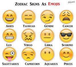 best horoscope if zodiac signs were emoji zodiac taurus and emoji