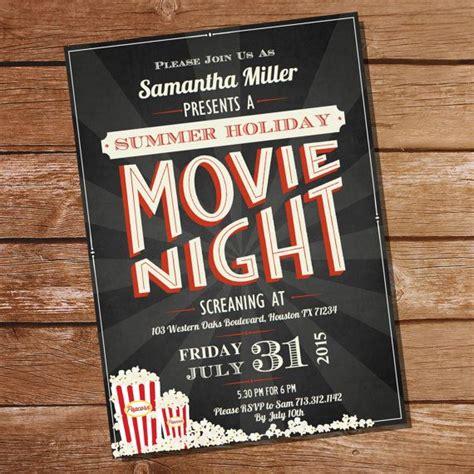 backyard movie night invitations best 25 movie night invitations ideas on pinterest