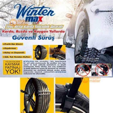winter max araba arac oto pratik lastik celik buz kar