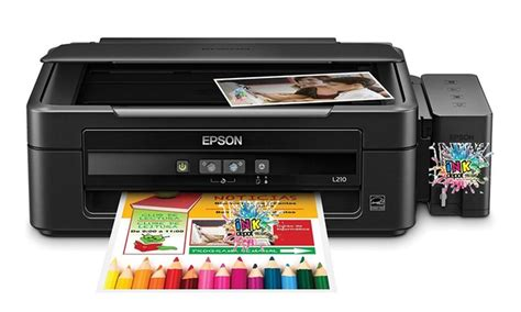 Printer Epson L210 Di Bogor Epson L210 All In One Printer Groupon