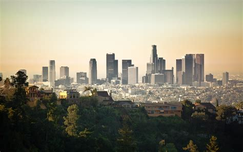 los angeles los angeles streets palm trees wallpaper
