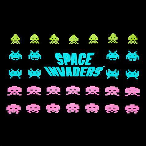 Space Invaders by Space Invaders The Invaders T Shirt Thinkgeek