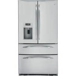 Ge Profile Refrigerator Cabinet Depth Ge Profile Series Pgss5rkzss 24 8 Cu Ft French Door