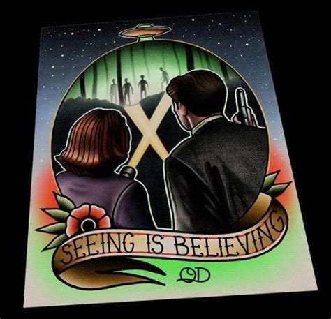 x files tattoos just had a discussion with the artist parlortattooprints