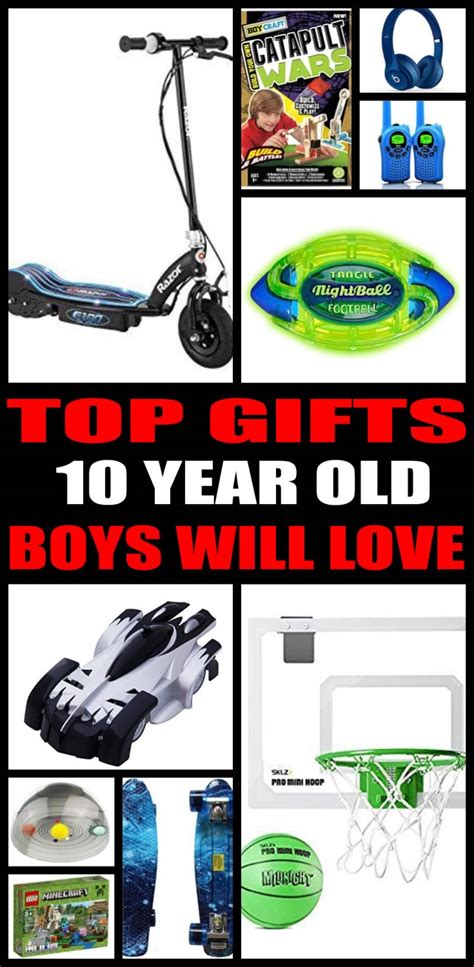 top ten boys gifts best gifts 10 year boys want