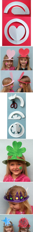 Paper Hats For Preschoolers - best 20 paper plate hats ideas on