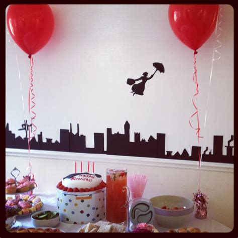 mary poppins party party ideas mary poppins themed party mary poppins pinterest