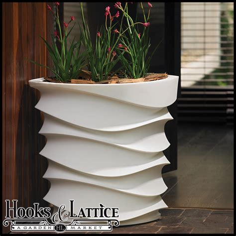 modern planters indoor expressions contemporary planter modern indoor