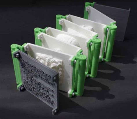 3dxart tom burtonwood entirely 3d printed book
