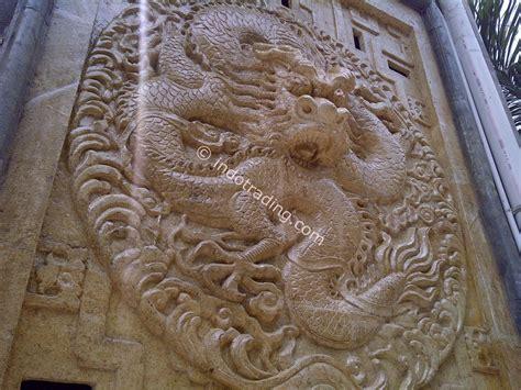 Patung Naga Ukiran 3d jual relief batu alam harga murah distributor beli