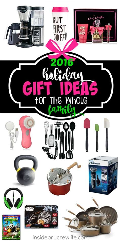 gift ideas for a whole family gift ideas for the whole family inside brucrew