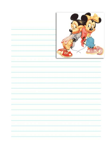 Printable Disney Stationary | free printable disney stationary stationery