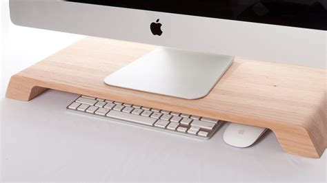 desk organizer monitor a breathtakingly simple computer stand that helps organize