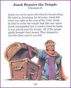 joash repairs the temple story kids korner biblewise