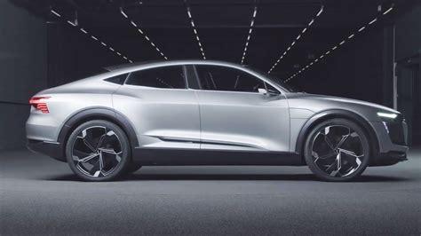 Audi Sportback E Tron by 2019 Audi E Tron Sportback Interior Exterior And Drive