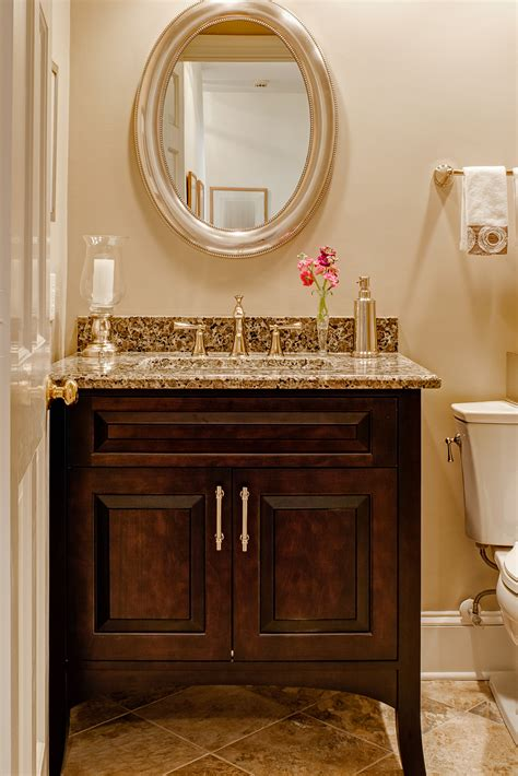 powder room vanities wonderful 2 door powder room vanity with single sink and