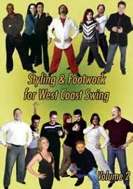 west coast swing footwork rent dvd styling footwork for west coast swing volume