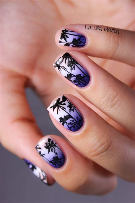 easy nail art palm tree 10 nail ideas for summer easy nail art summer and palm