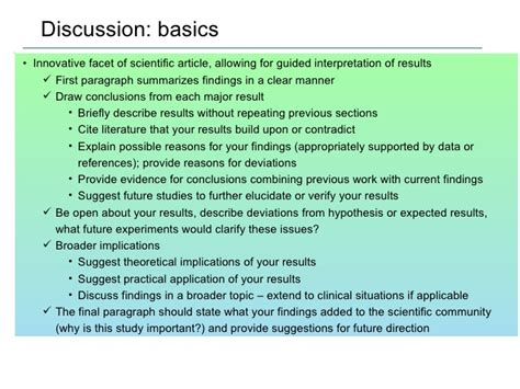 how to write discussion scientific paper science report discussion drugerreport732 web fc2