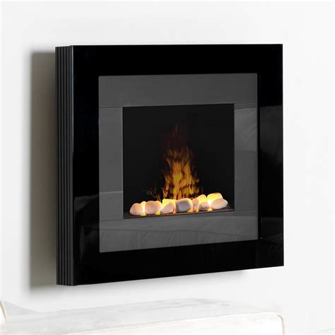 wall mount fireplace electric wall fireplace greatco 50 in gallery linear