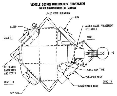 lunar module diagram ninfinger productions scale models
