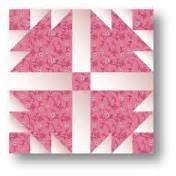 quilt block pattern dove in the window