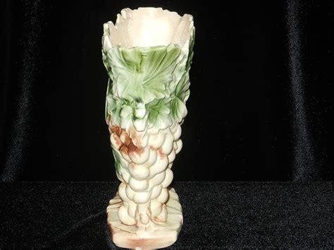 Mccoy Grape Vase by Vintage Mccoy Grape Design Pottery Vase From Mygrandmotherhadone On Ruby