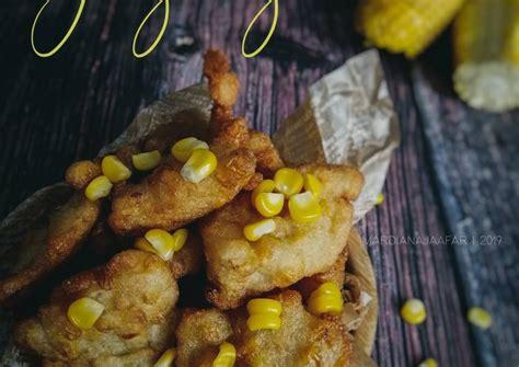 resipi cucur jagung oleh mardiana jaafar cookpad