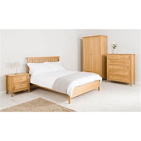 george home ewan bedroom furniture range oak oak