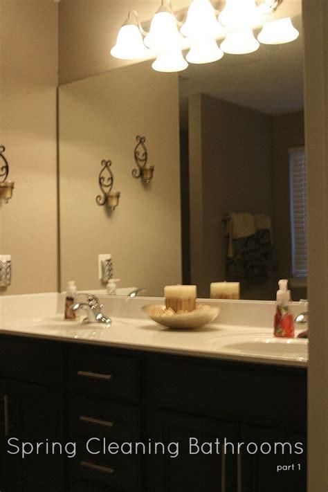 spring cleaning bathroom spring cleaning bathrooms part 1 clean pinterest