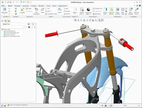 Creo Top design engine education industrial product design in solidworks creo rhino