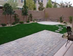 Small Backyard Landscaping Ideas Arizona Small Backyard Backyard Pit Area Stepping Stones And Pits