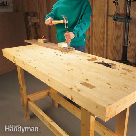 how to build a work bench how to build a work bench on a budget