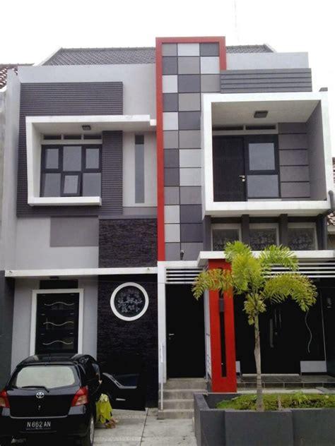 design eksterior rumah tipe 36 12 contoh cat rumah minimalis tipe 36 yang viral cat