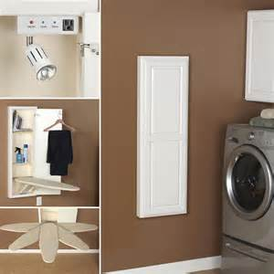 Diy Wall Mounted Ironing Board 5 Solutions For Ironing Board Storage Diy House Help