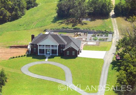 organic blueberry farm estate home 92 acres danville ky