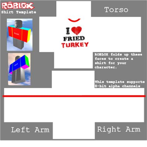 The Gallery For Gt Transparent T Shirt Template Roblox Shirt Template Transparent