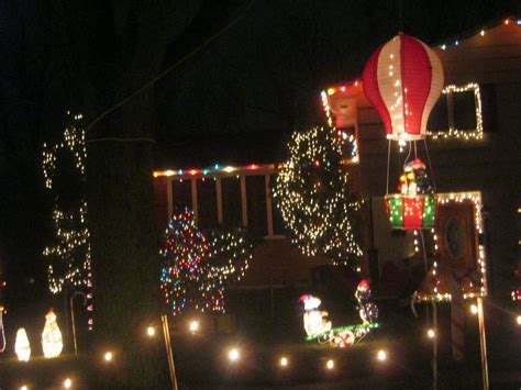 my neighbor s christmas lights check out the gingerbread