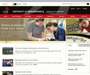 Unb Mba Tuition Fees by Unb Ca Of New Brunswick Canada Welcome