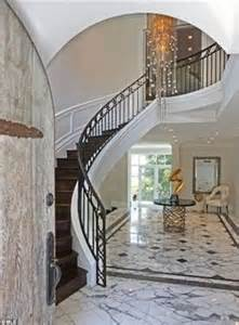Contemporary Banister Rails Kara Dioguardi Sells Her French Style Studio City Mansion