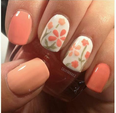 how to do a simple flower nail at home nail designs mag