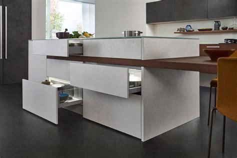 topos concrete fitted kitchens from leicht k 252 chen ag - Leicht Küchen Ag