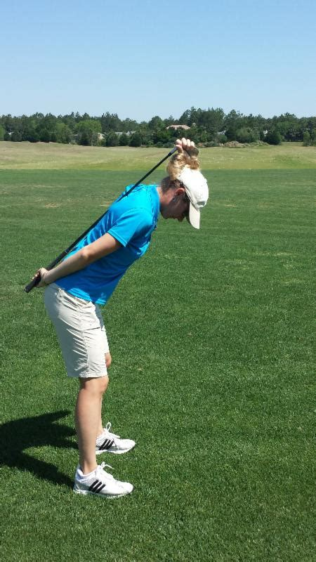 keep weight forward golf swing classic swing golf school posture a tip from ted