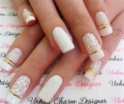 imagenes de uñas decoradas modelos 2015 unhas decoradas para noivas 2015 fotos mais mulheres